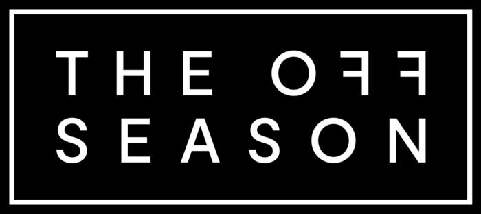 THE OFF SEASON Logo black box